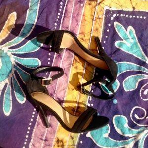 {5/$20 SALE} Suede Black Heels